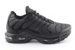 Nike Air Max Plus TN Black (с мехом)