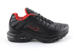 Nike Air Max Plus TN Black/Red (с мехом)