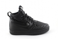 Nike Lunar Force 1 Duckboot '17 Black (с мехом)