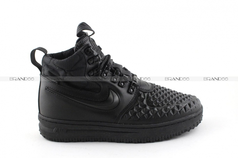 cb849e69 Зимние кроссовки Nike Lunar Force 1 Duckboot '17 Black (с мехом ...