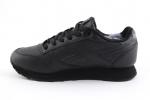 Reebok Classic Leather Black (с мехом)
