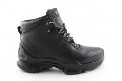 Ecco Biom C Mid Black Leather (с мехом)