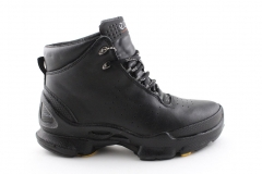Ecco Biom C Mid Black Leather (с мехом)