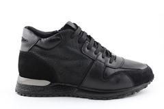 Louis Vuitton Run Away Black (с мехом) LVW01