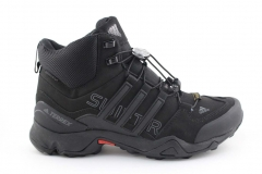 Adidas Terrex SwiftR Mid Black (с мехом)