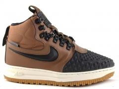 Nike Lunar Force 1 Duckboot '17 Brown/Black (натур. мех)