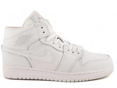 Nike Air Jordan 1 Retro White (натур. мех)