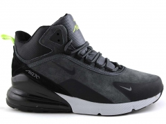 Nike Air Max 270 Mid Grey (с мехом)
