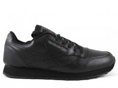 Reebok Classic Leather All Black (c мехом)