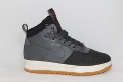 Nike Lunar Force 1 Duckboot Grey (натур. мех)