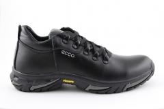 Ecco Black Leather (с мехом) ECBM1