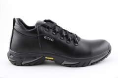 Ecco Black Leather (с мехом) ECBM1