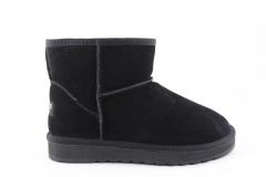 Угги Snowboots Mini Black (с мехом)