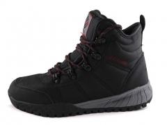 Ботинки Columbia Fairbanks Black/Red (с мехом)