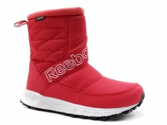 Дутики Reebok Waterproof Red R19 (с мехом)