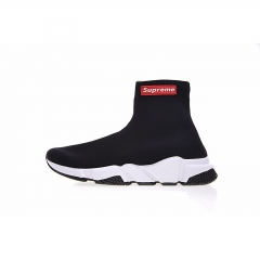 Supreme x Balenciaga Speed Runner Sock Black