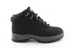 Nike Lunarridge Black/Grey (с мехом)