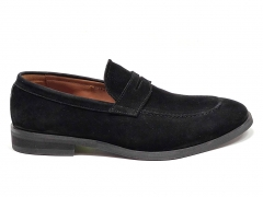 Loro Piana Loafer City Walk Black Suede LP06