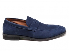 Loro Piana Loafer City Walk Navy Suede LP05