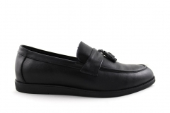 Rasht Loafers Black Leather RST9