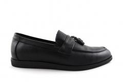 Rasht Loafers Black Leather RST9