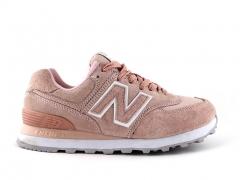 New Balance 574 Peach
