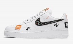 """Nike Air Force 1 Low """"Just Do It"""" White"""
