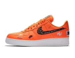 """Nike Air Force 1 Low """"Just Do It"""" Orange"""