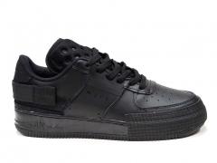 Nike Air Force 1 Low Type Triple Black