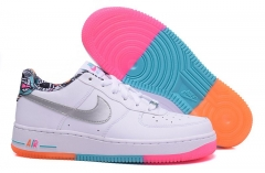 Nike Air Force 1 Low White/Rainbow