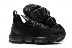 Nike LeBron 16 Triple Black