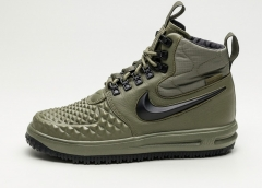 Nike Lunar Force 1 Duckboot '17 Medium Olive (с мехом)