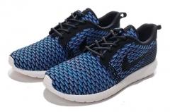 Nike Roshe Run black/blue
