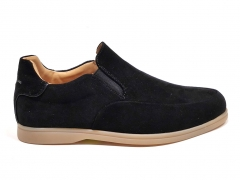Loro Piana Summer Walk Black Suede LP11