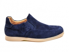 Loro Piana Summer Walk Navy Suede LP12