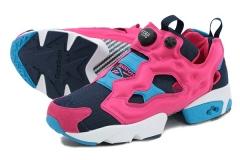 Reebok Insta Pump Fury Blazing Pink/Indigo Blue