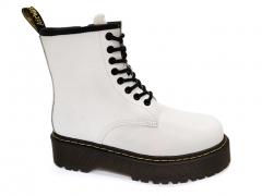 Ботинки Dr. Martens Jadon White (натур. мех)