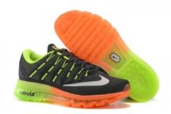 Nike Air Max 2016 black/green/orange