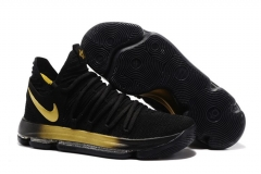 Nike Zoom KD 10 Black/Gold