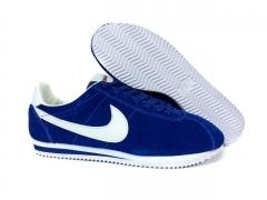 Nike Cortez blue/white suede