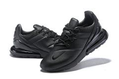 Nike Air Max 270 Black Leather