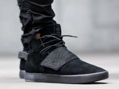 Adidas Tubular Invader Strap Triple Black