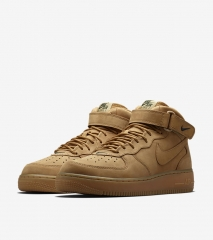 Nike Air Force 1 Mid Flax