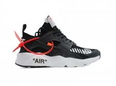 Nike Air Huarache Ultra x Off White Black/White