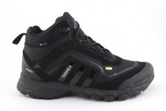 Adidas Terrex Seamless Mid Black (с мехом)