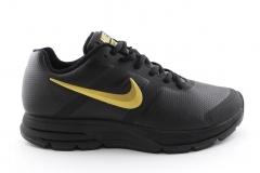 Nike Air Pegasus 30 Black/Gold Leather
