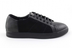 Billionaire Lo-Top Sneakers Black