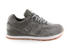 New Balance 574 Suede Grey/Khaki