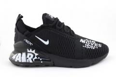 """Nike Air Max 270 """"Air Moves You"""" All Black"""