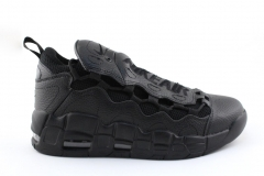Nike Air More Money Black Leather